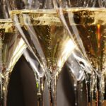 The different shapes of glasses for champagne